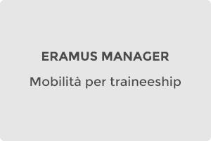 Erasmus Manager Mobilità per lo studio